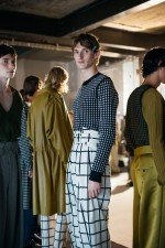 BACKSTAGE AT WOOYOUNGMI SPRING-SUMMER 2017 PARIS