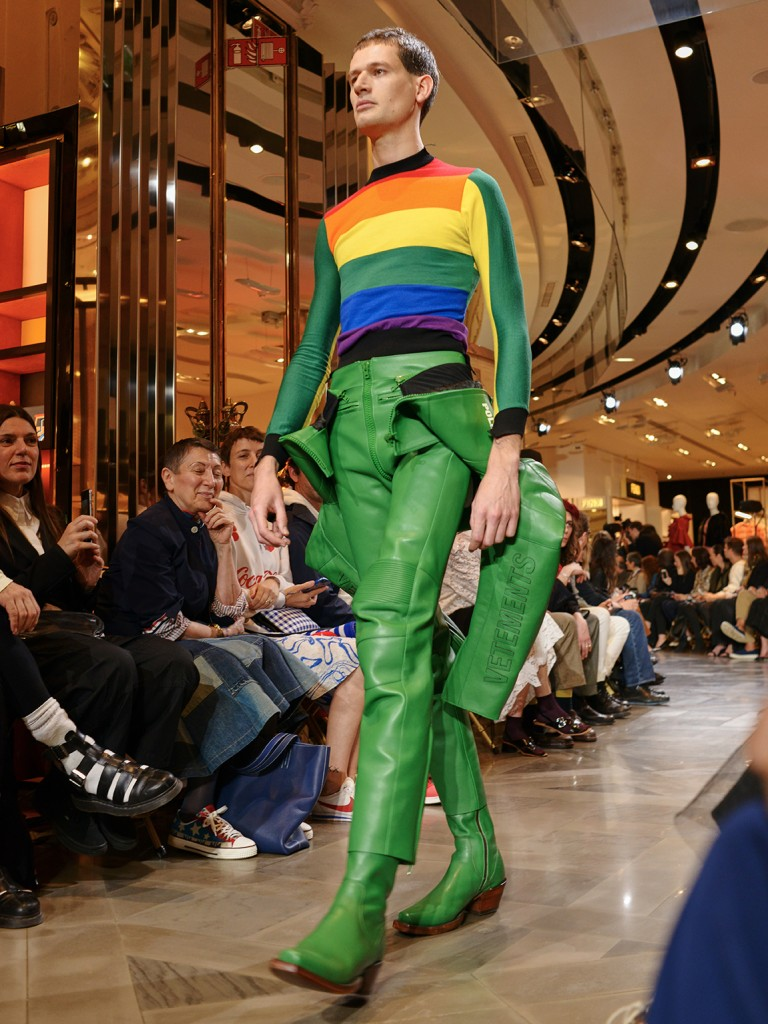 Vetements SS17 Demna Gvasalia Galeries Lafayette Paris Fashion Week Crash Magazine Dan Spigelman