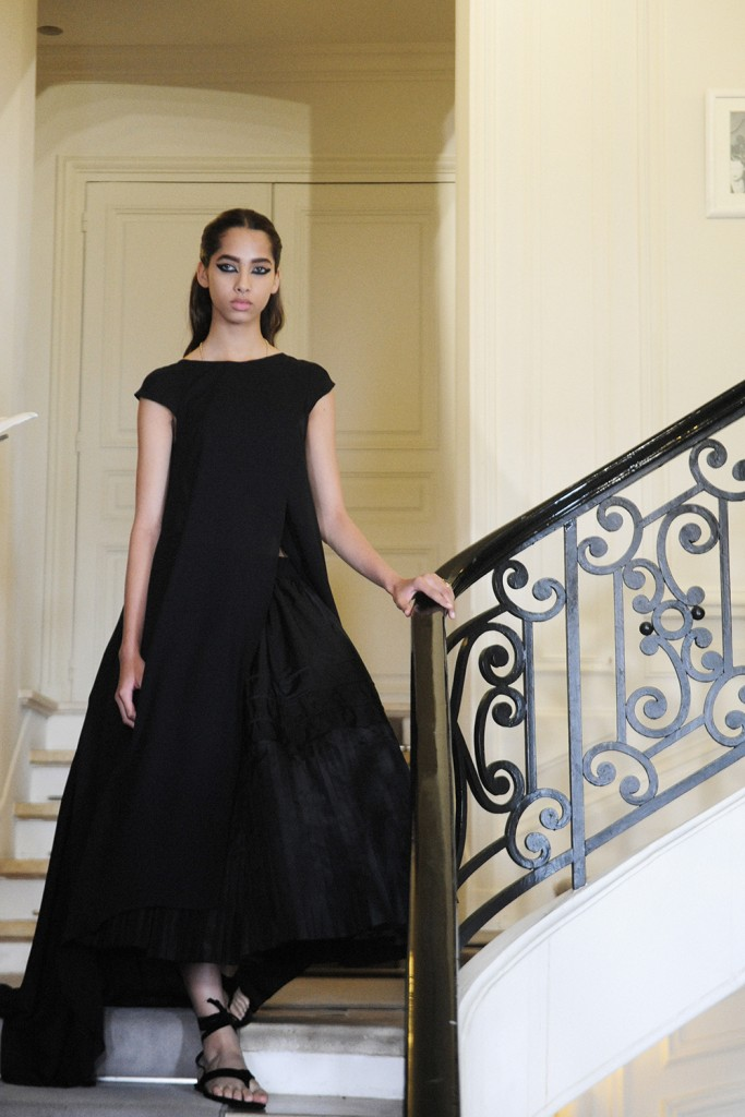 Yasmin Wijnaldum Backstage Christian Dior FW16 Paris Haute Couture Week Crash Magazine Elise Toïdé