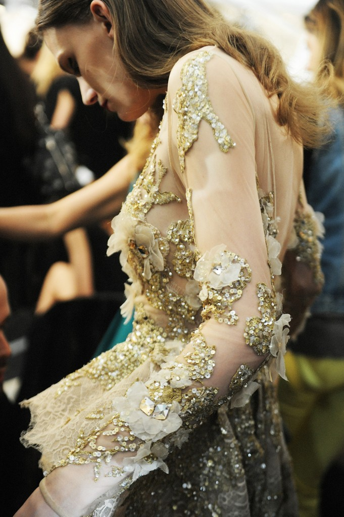 Elie Saab haute Couture AW16 Lena Hardt - Crash magazine