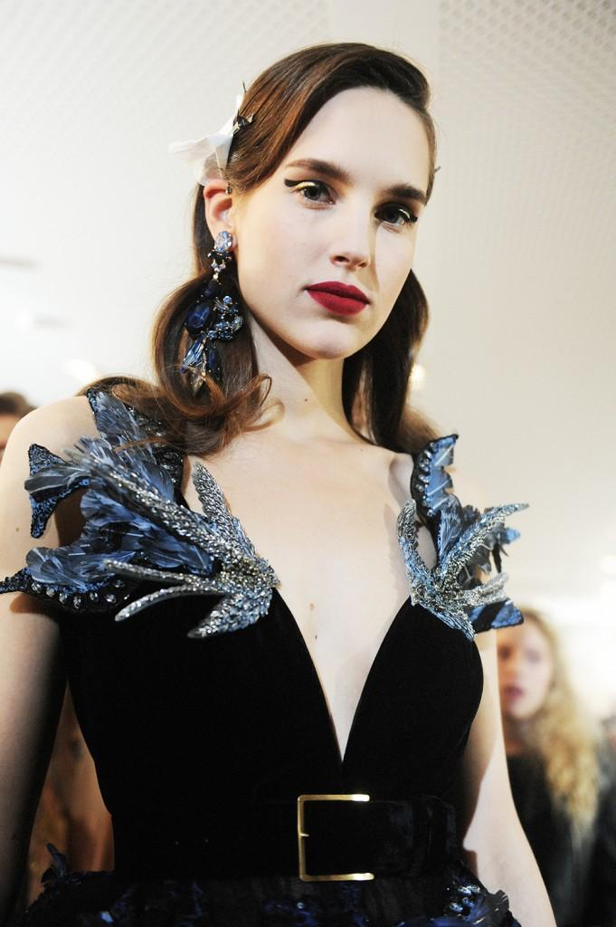 Elie Saab haute Couture AW16 Anastasia Kuznetsova - Crash magazine