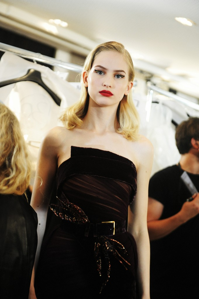 Elie Saab haute Couture AW16 Amanda Söderberg - Crash magazine
