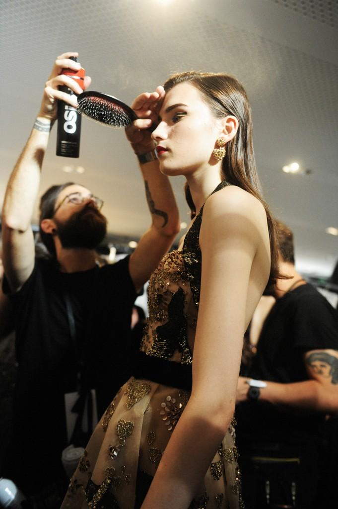 Elie Saab haute Couture AW16 Camille Hurel - Crash magazine