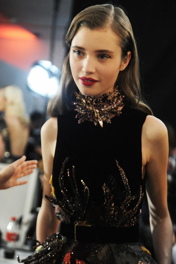 Elie Saab haute Couture AW16 Victoria Kosenkova - Crash magazine