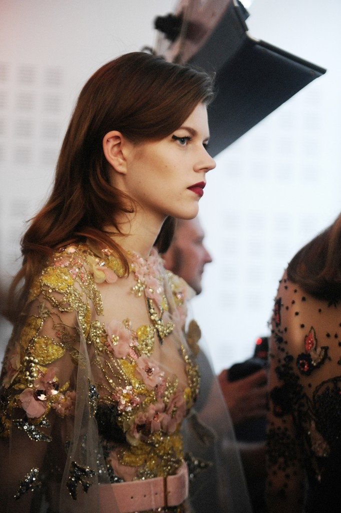 Elie Saab haute Couture AW16 Antonia Wesseloh - Crash magazine
