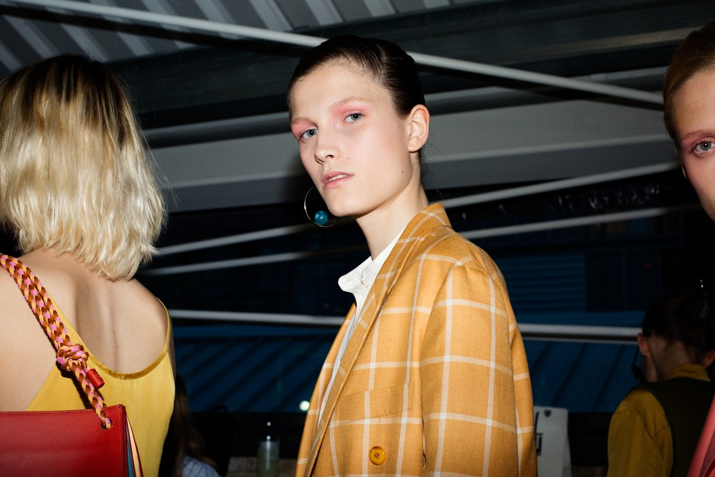 Backstage Paul Smith SS17 London Fashion Week womenswear Crash Magazine Leonardo Veloce