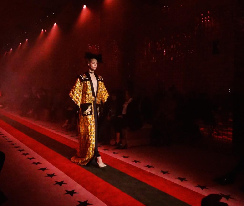 Gucci SS17 Milan Fashion Week womenswear Crash Magazine Armelle Leturcq Alessandro Michele