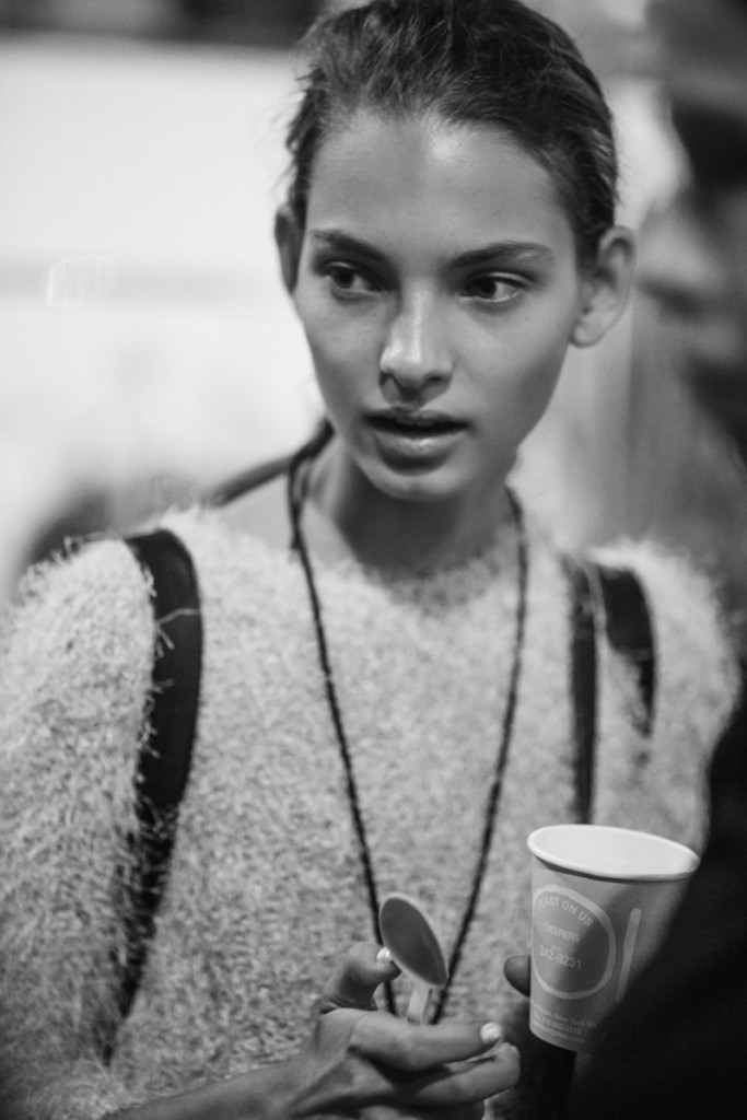 Backstage DKNY SS17 New York Fashion Week Crash Magazine Bradford Gregory