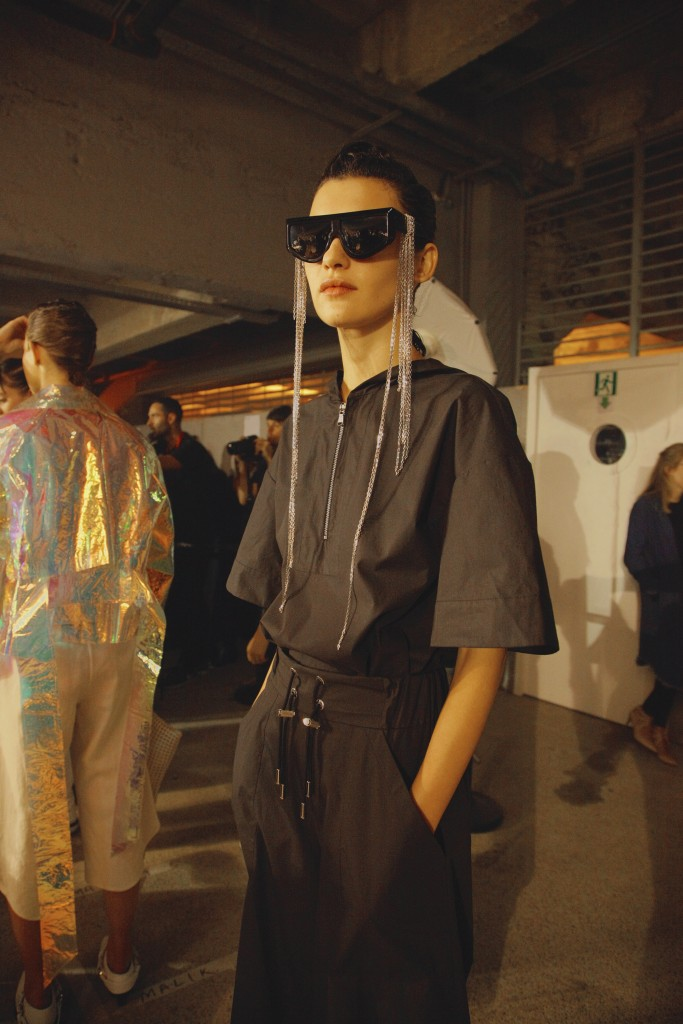 Backstage Wanda Nylon SS17 Paris Fashion Week Crash Magazine by Clément Louis