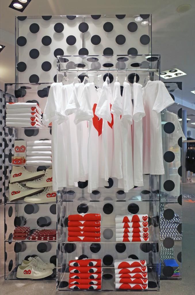 Comme des Garçons opens pocket store at the BHV Marais, in Paris