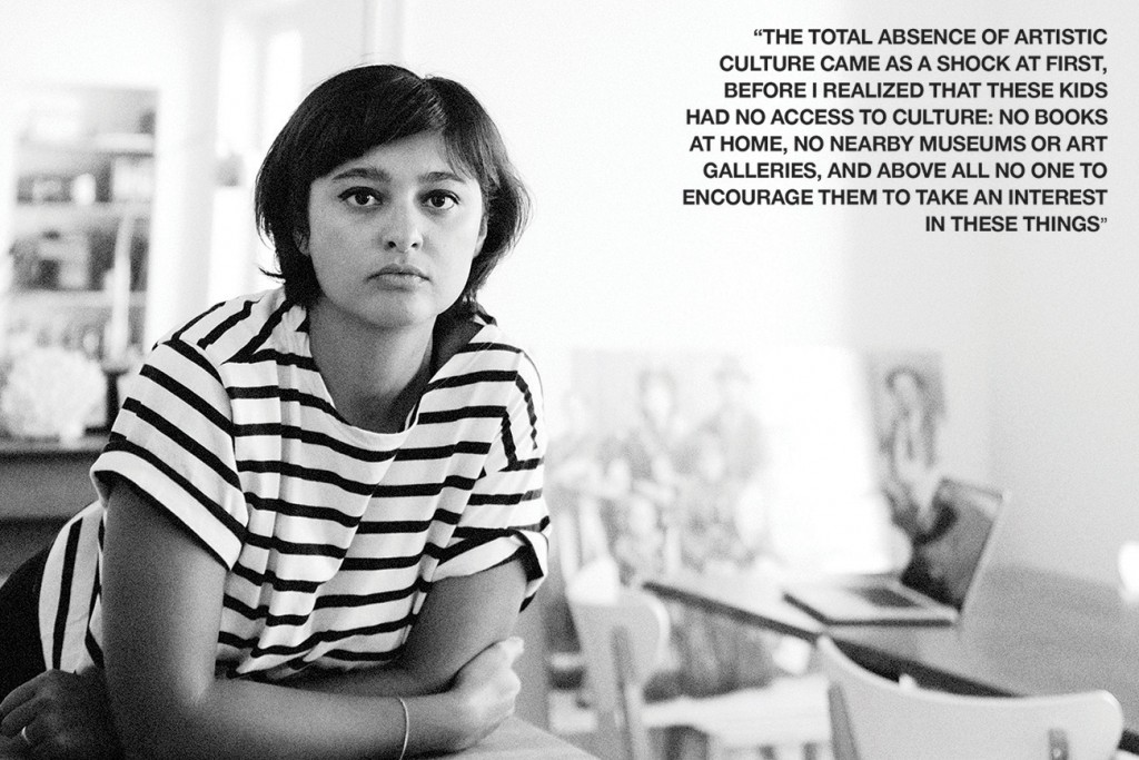 Salma Cheddadi Paris after the bombs Crash Magazine