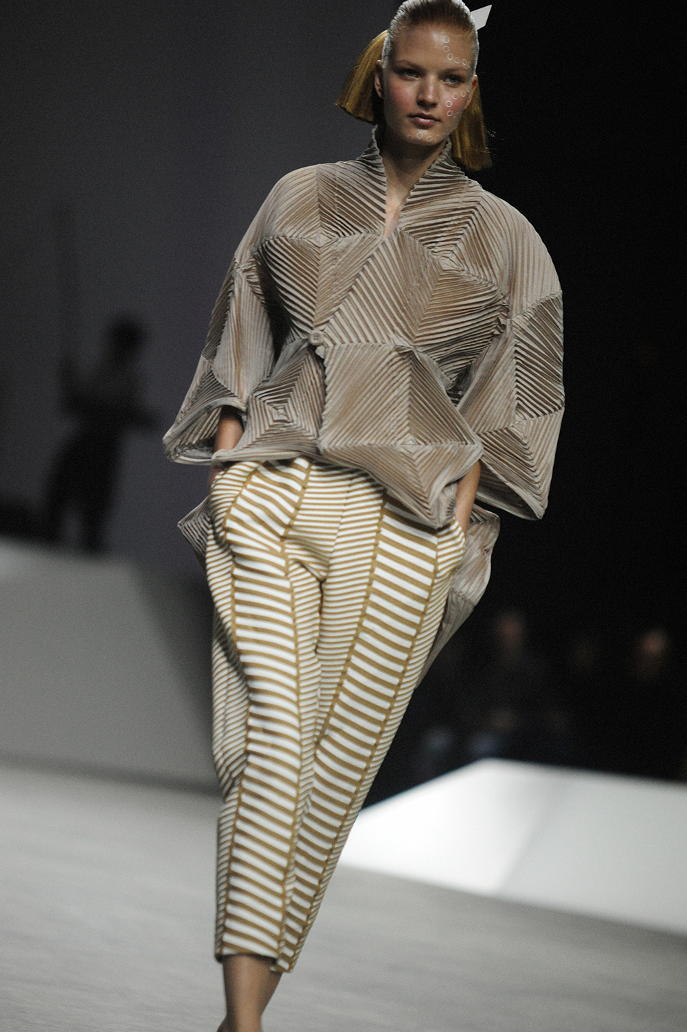 Clothing By Baking It In An Oven By Issey Miyake: On The Runway At Issey Miyake SS17 Paris