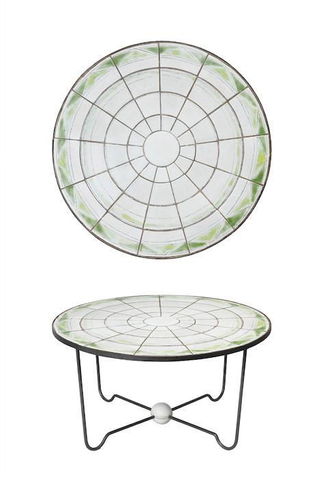Design Miami 2016 - Circular Coffee Table/ Denise Gatard/ 1955/ Courtesy of Thomas Fritsch – ARTRIUM