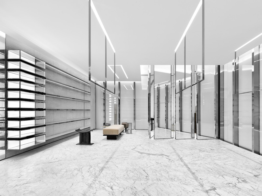 Saint Laurent store in Miami Design District - Crash Magazine