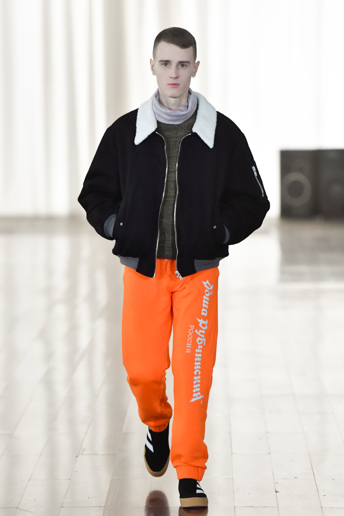 Gosha Rubchinskiy Fall Winter 2017/2018 Fashion Show in Kaliningrad, Russia - Crash Magazine