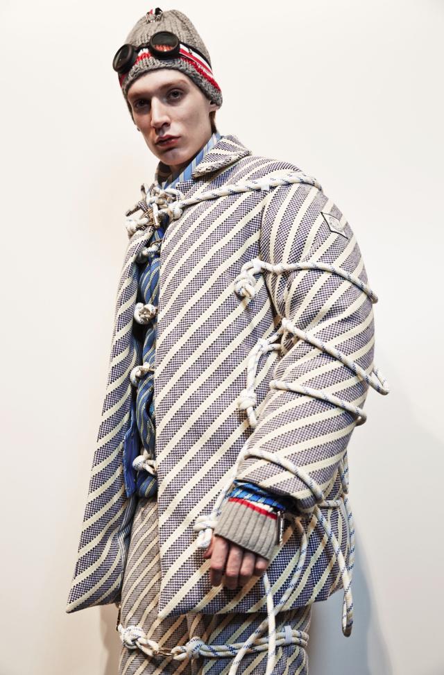 Moncler Gamme Bleu Fall Winter 2017 18 Menswear Fashion Show Crash Magazine