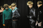 BACKSTAGE AT DIOR HOMME FALL WINTER 2017/18 PARIS