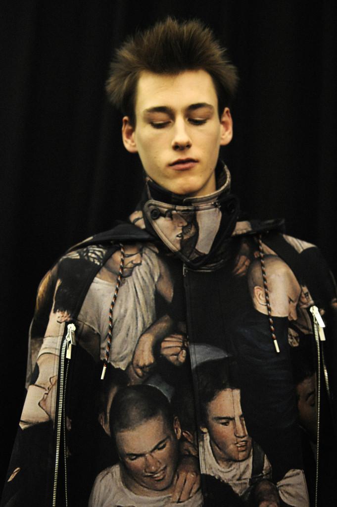 Backstage at Dior Homme Fall Winter 2017/18 fashion show Crash Magazine