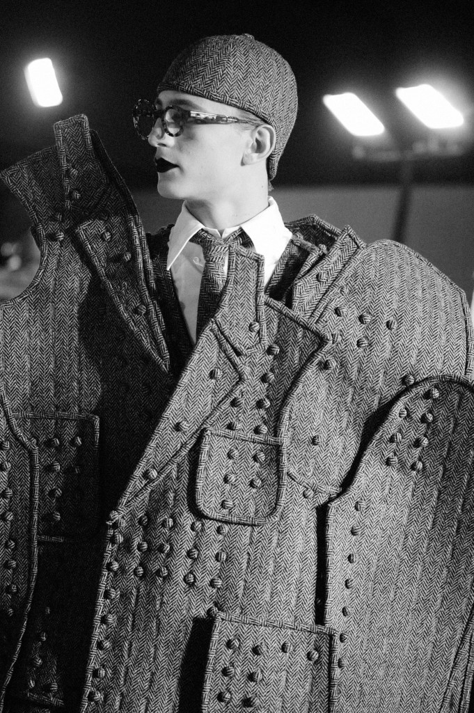 Backstage Thom Browne Fall 2017 menswear collection - Crash Magazine