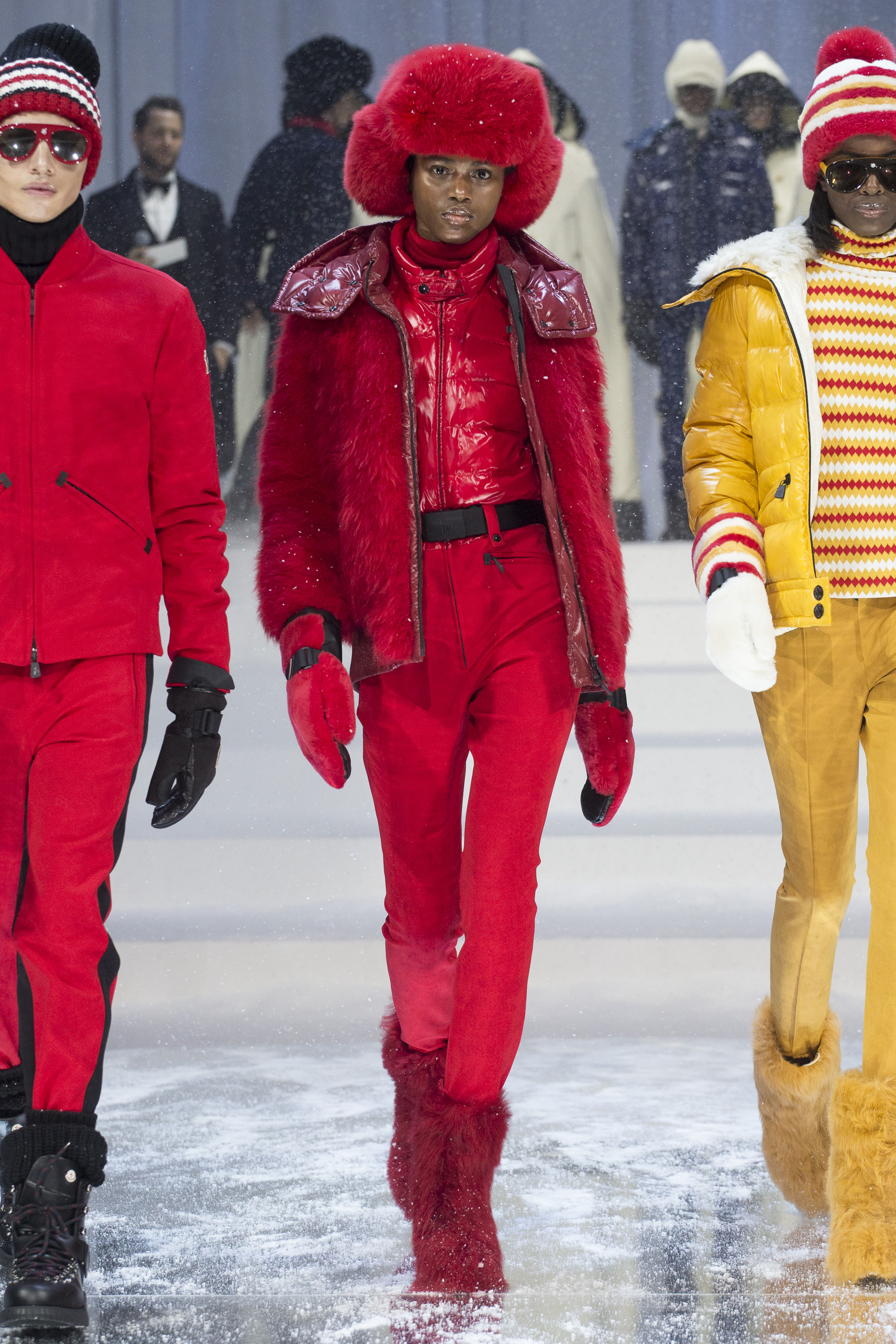 MONCLER GRENOBLE FALL WINTER 2017/18 COLLECTION IN NEW YORK