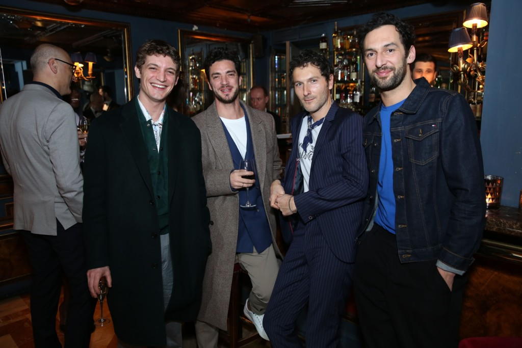 12Nils Schneider, Jeremie Belingard, Simon Buret and Olivier Coursier at Laperouse
