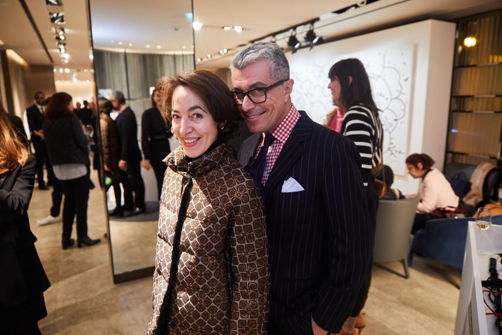 95 Pamela Golbin and Giorgio Guidotti - © Saywho