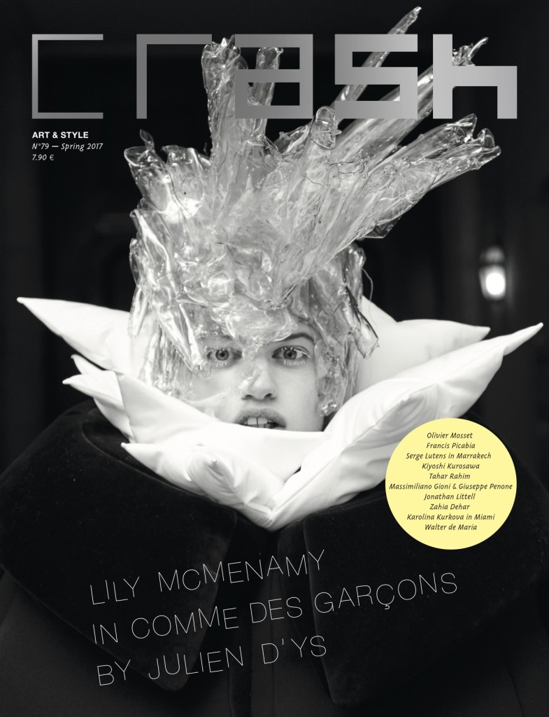 58a59dfc7ed Crash 79 The Fashion Issue - Lily McMenamy in Comme Des Garçons