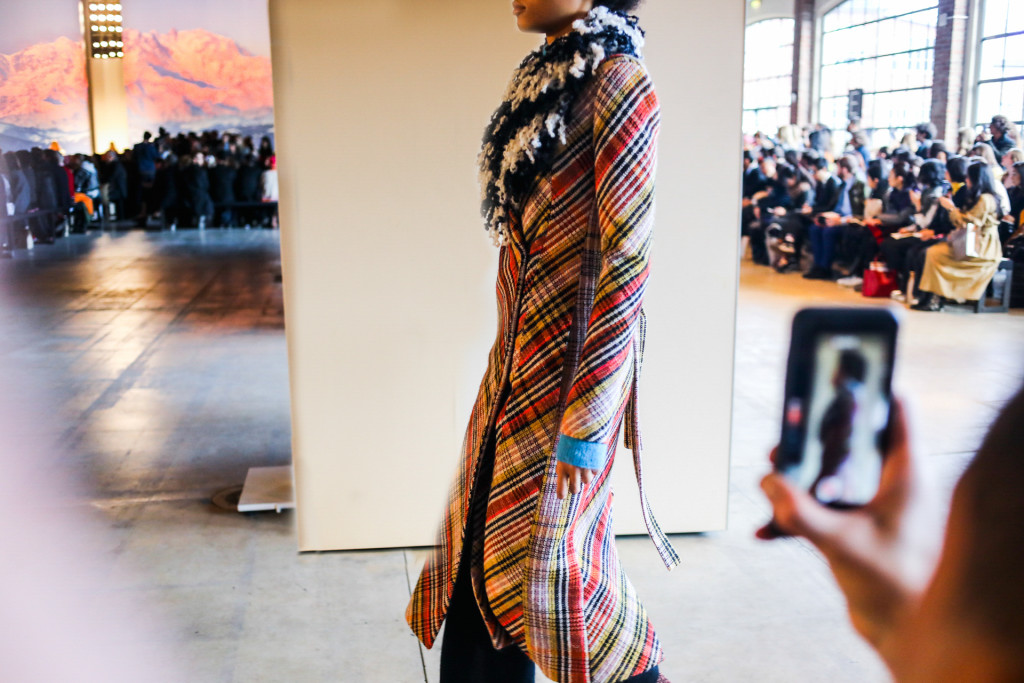 Missoni Fall/Winter 2017/2018 collection in Milan.