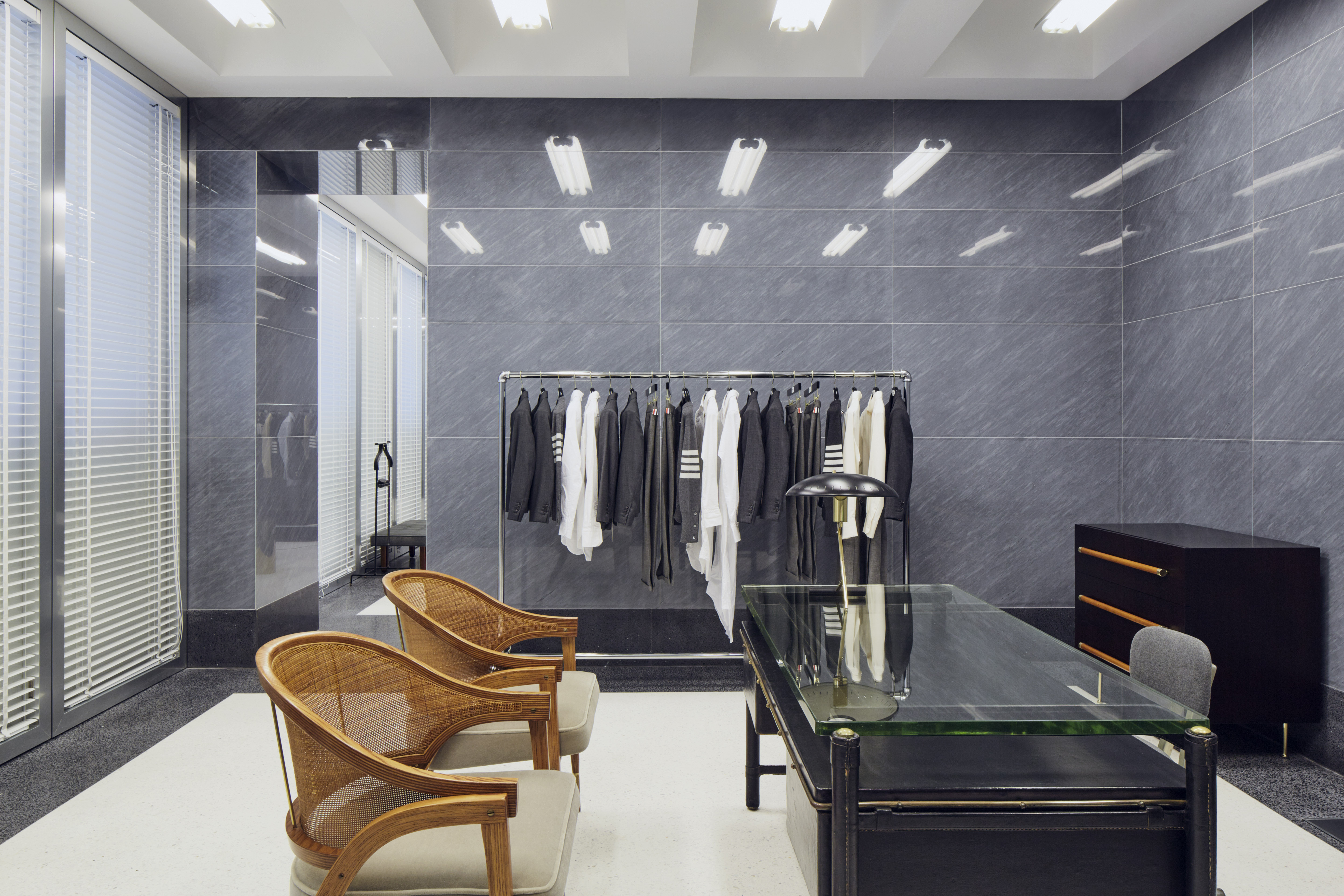 THOM BROWNE'S MILAN STORE OPENS