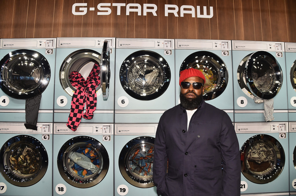 NEW YORK, NY - SEPTEMBER 13: Black Thought attends Pharrell Williams And G-Star RAW Presents The New G-Star Elwood X25 Prints - New York Fashion Week - Spring/Summer 2018 on September 13, 2017 in New York City. (Photo by Theo Wargo/Getty Images for G-Star RAW )