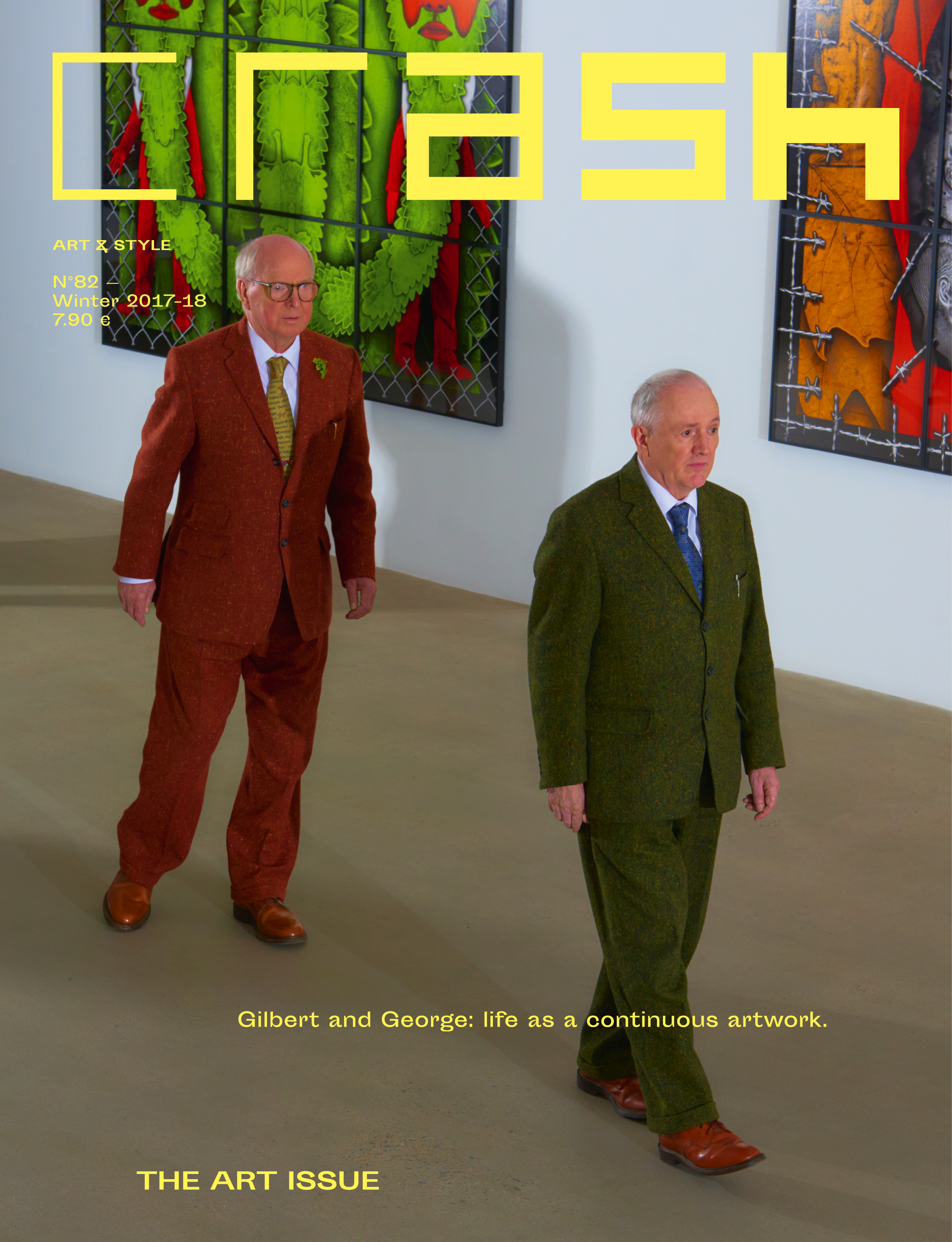DISCOVER THE ART ISSUE 82 WITH GILBERT & GEORGE AND OKSANA SHACHKO