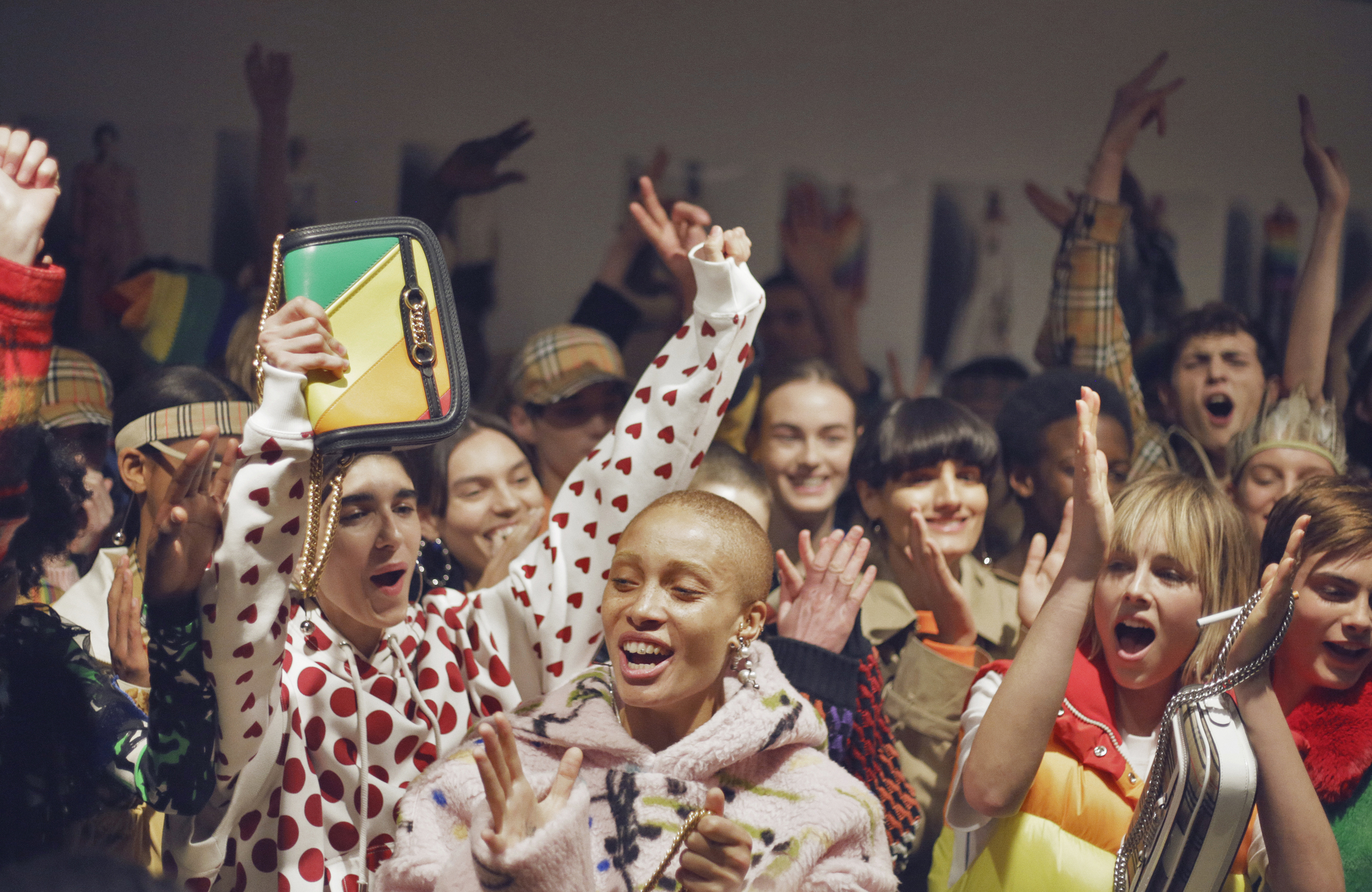 CELEBRATION OF LGBTQ+ AT BURBERRY FEBRUARY COLLECTION