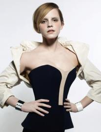 CRASH 49 / EMMA WATSON BY KARL LAGERFELD FOR CRASH MAGAZINE