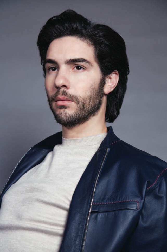 BEHIND THE SCENES  WITH TAHAR RAHIM FOR CRASH #64