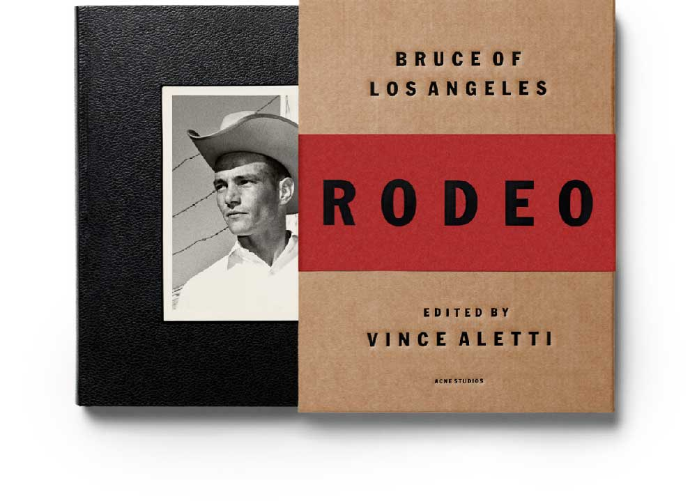 RODEO / ACNE STUDIOS / BRUCE OF LOS ANGELES x VINCE ALETTI LAUNCH / REPORT ON CRASH.FR