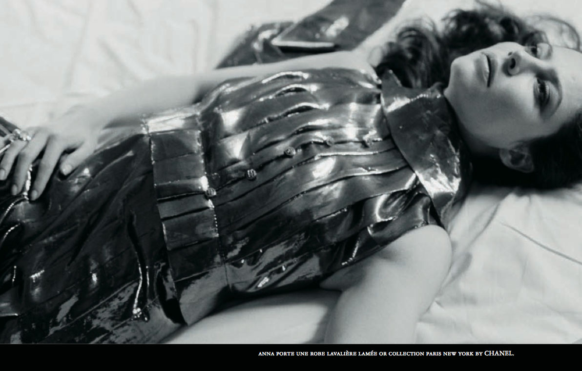 FASHION STORY WITH ANNA MOUGLALIS BY SAM SAMORE IN CRASH #37