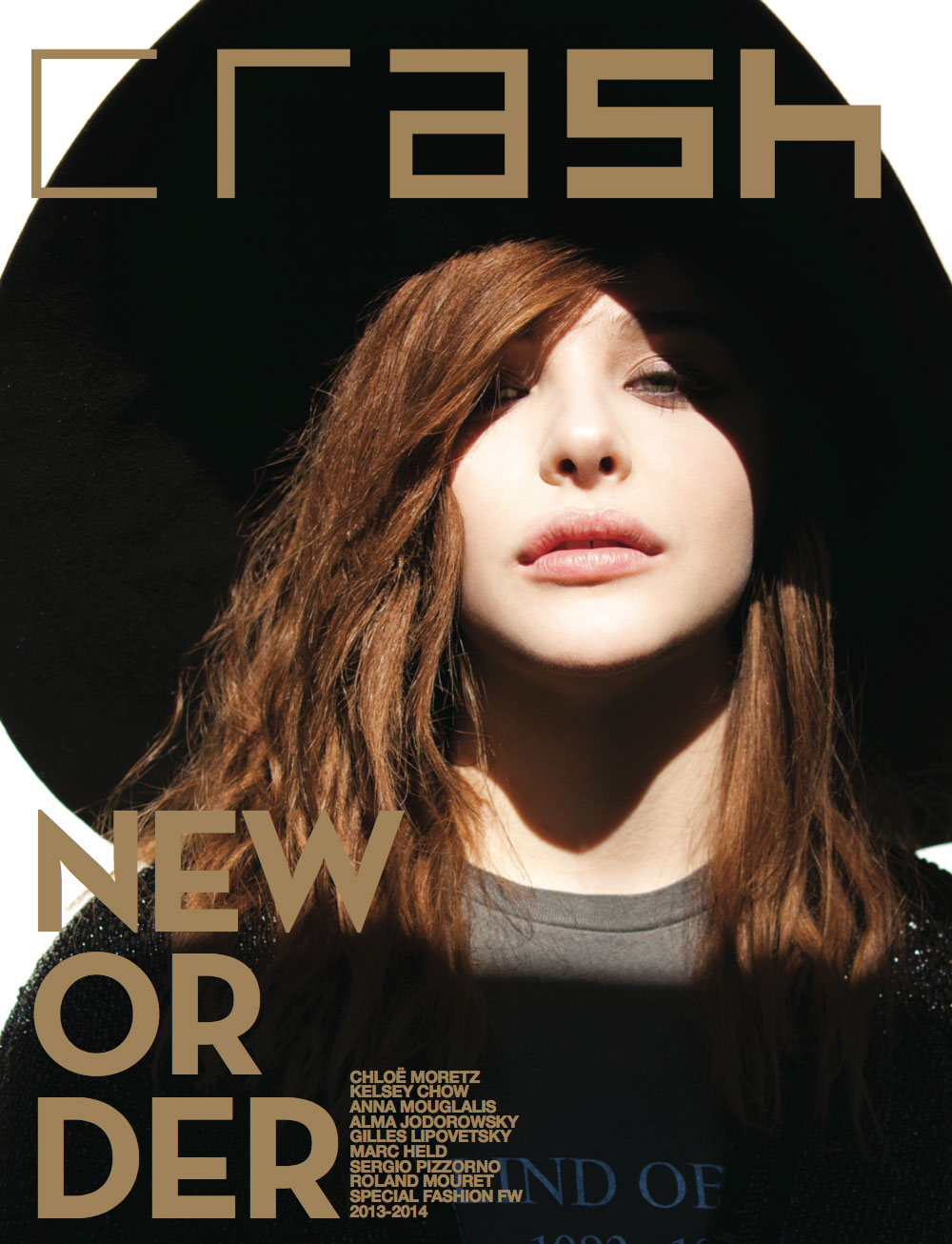 CHLOE GRACE MORETZ ON THE COVER OF CRASH FALL ISSUE