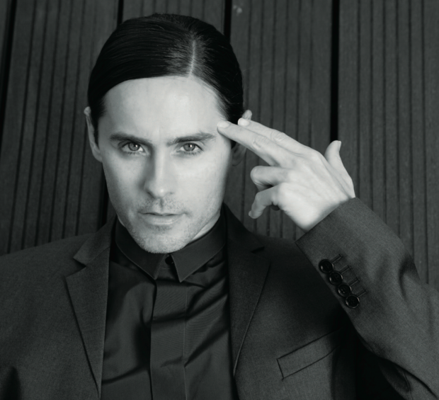 Jared Leto shooting for CRASH magazine