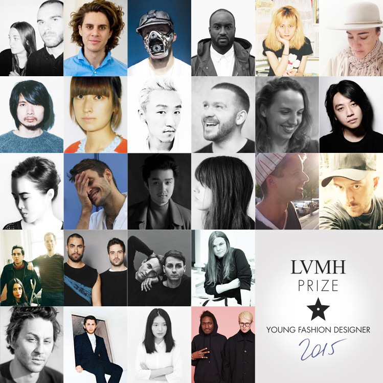 THE 26 FASHION DESIGNERS SELECTED FOR THE LVMH PRIZE HAVE BEEN REVEALED