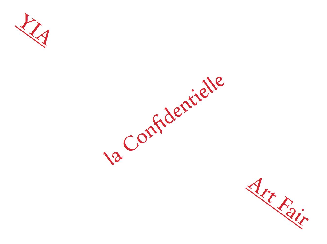 LA CONFIDENTIELLE – YIA ART FAIR IN PARIS