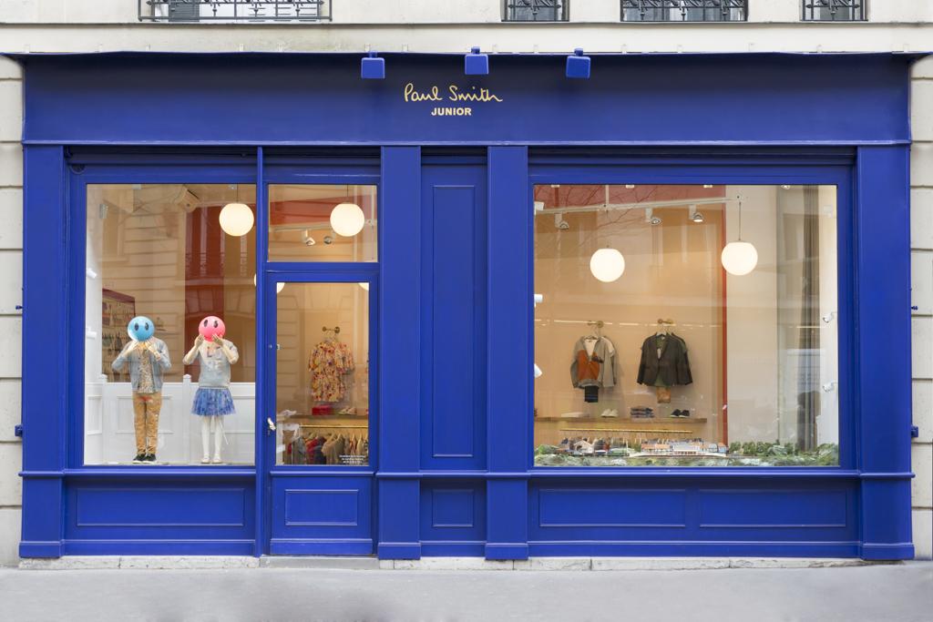 Paul Smith Junior boutique in Paris - Crash Magazine