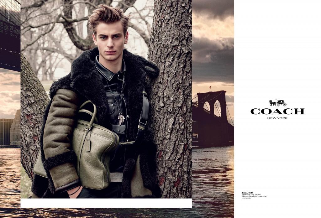 Coach new campaign Fall 2015, crash magazine, fashion, Armellle Leturcq,