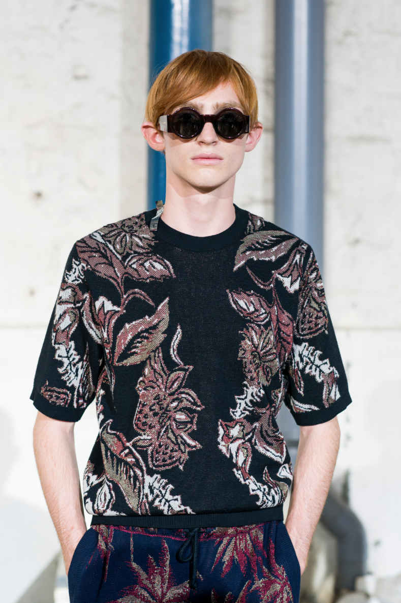 DRIES VAN NOTEN MENSWEAR SPRING-SUMMER 2016 PARIS