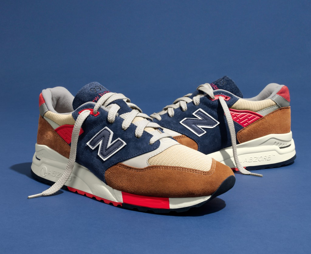 J. Crew and New Balance collaboration