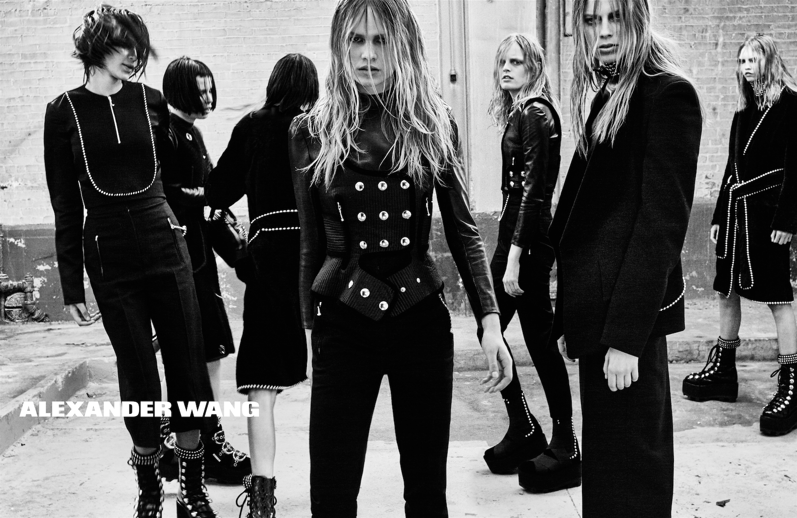 ALEXANDER WANG FW15 CAMPAIGN BY STEVEN KLEIN