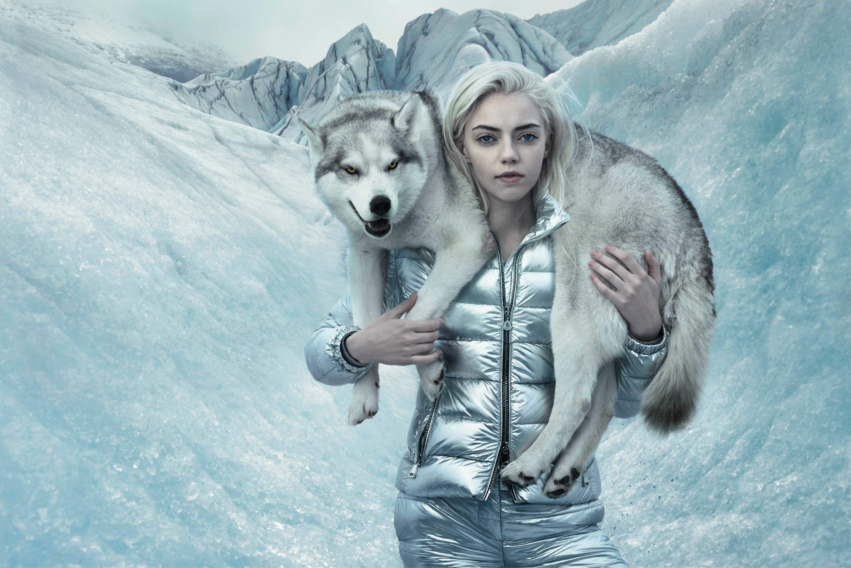 MONCLER FW15 CAMPAIGN BY ANNIE LEIBOVITZ