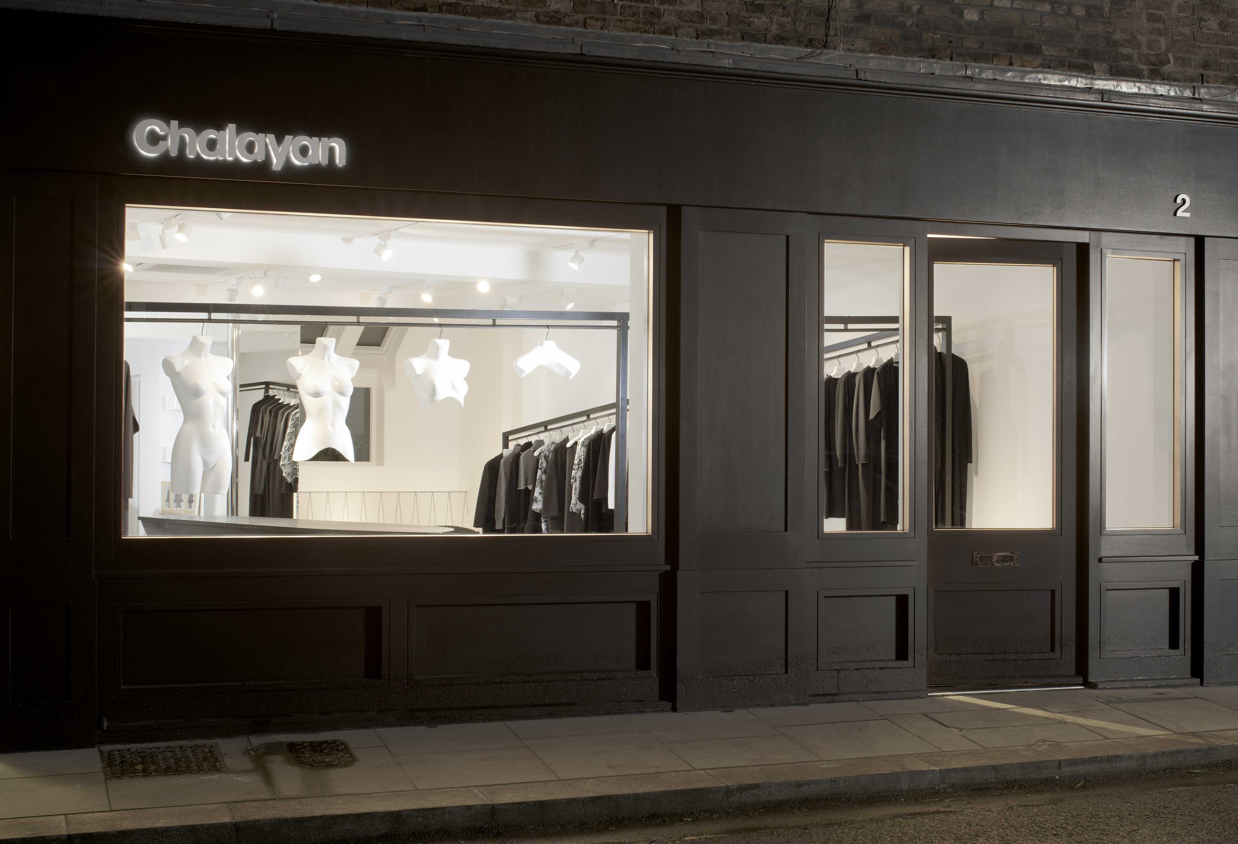 CHALAYAN OPENS FIRST STORE IN LONDON