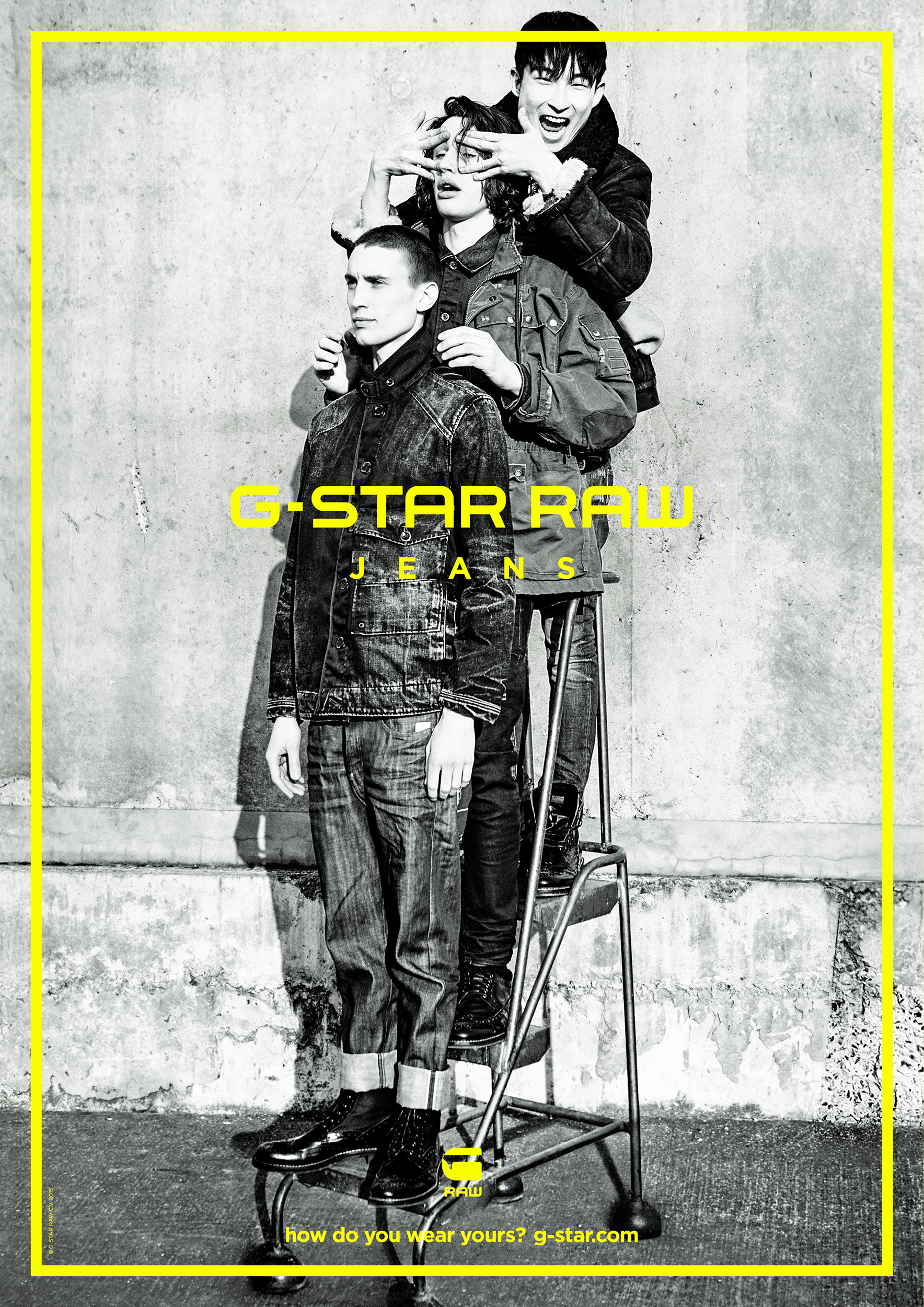 G-STAR INTRODUCES FALL-WINTER 2015 CAMPAIGN