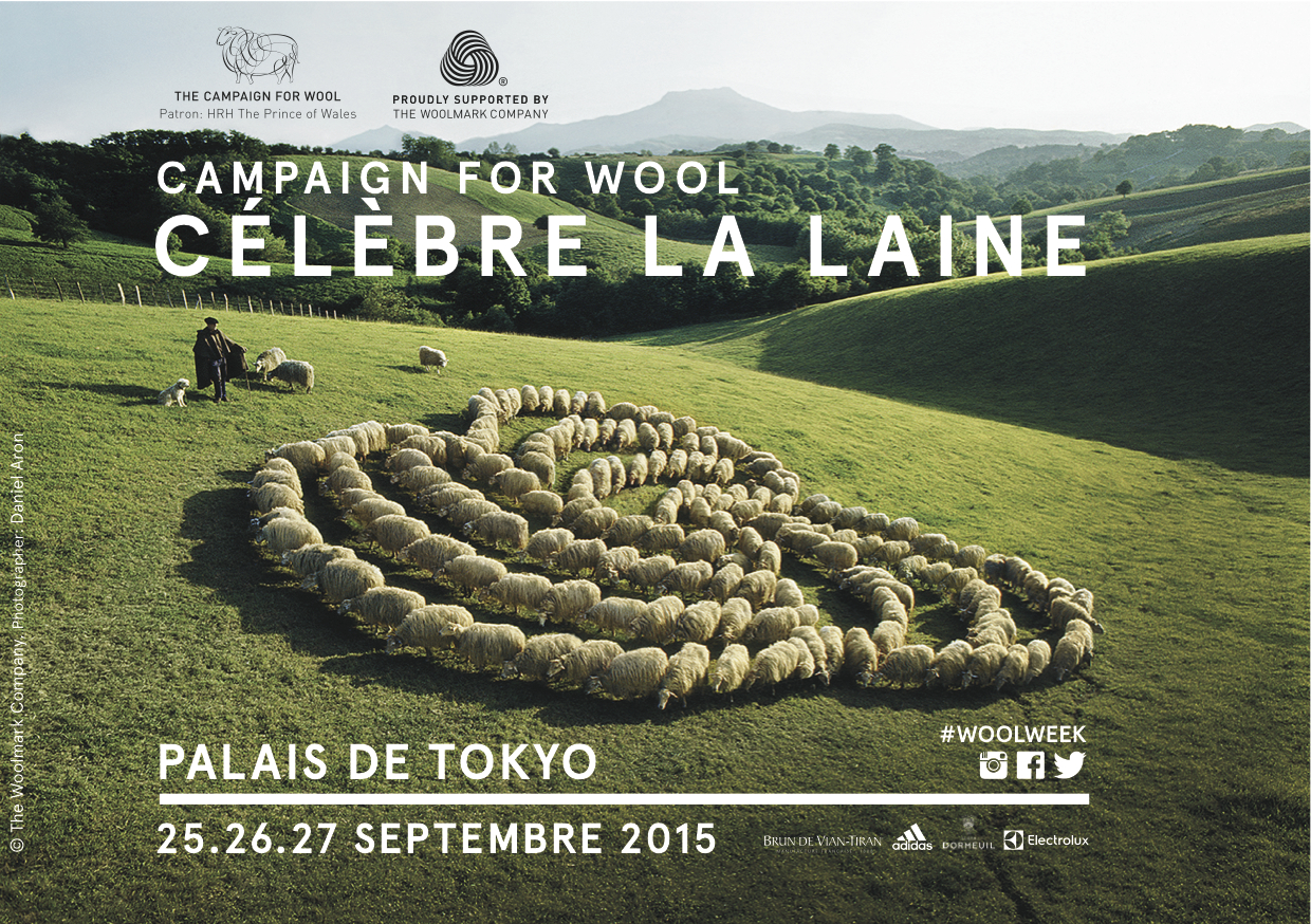 CAMPAIGN FOR WOOL 2015 IN PARIS