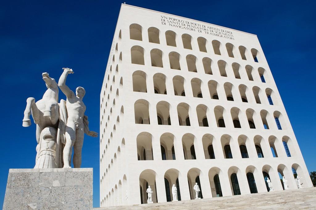 FENDI new headquarters Palazzo della civilta'italiana